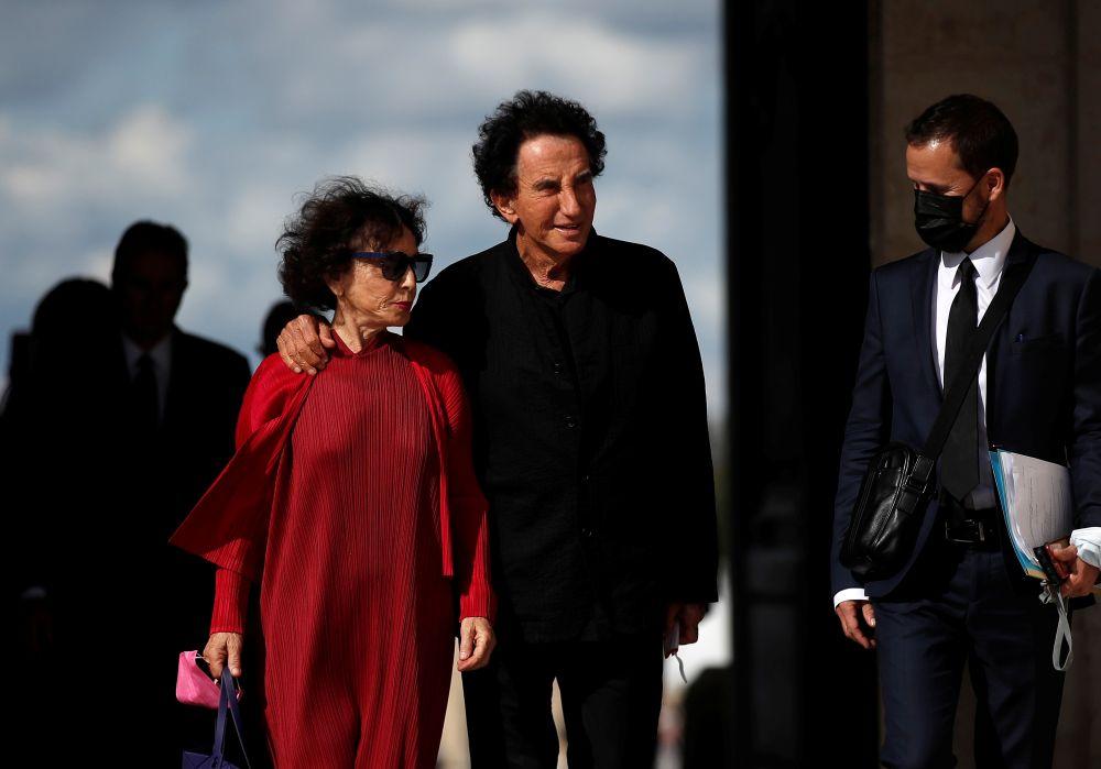 Бывший министр культуры Франции Жак Ланг и его супруга Моник