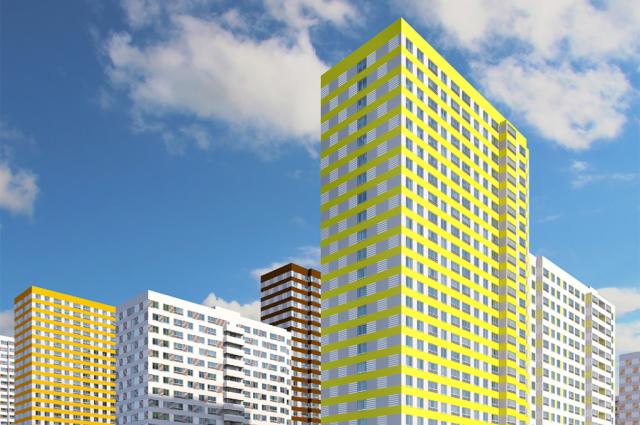 В Оренбурге на улице Юркина появятся высотные дома с 17, 24 и 25 этажами.