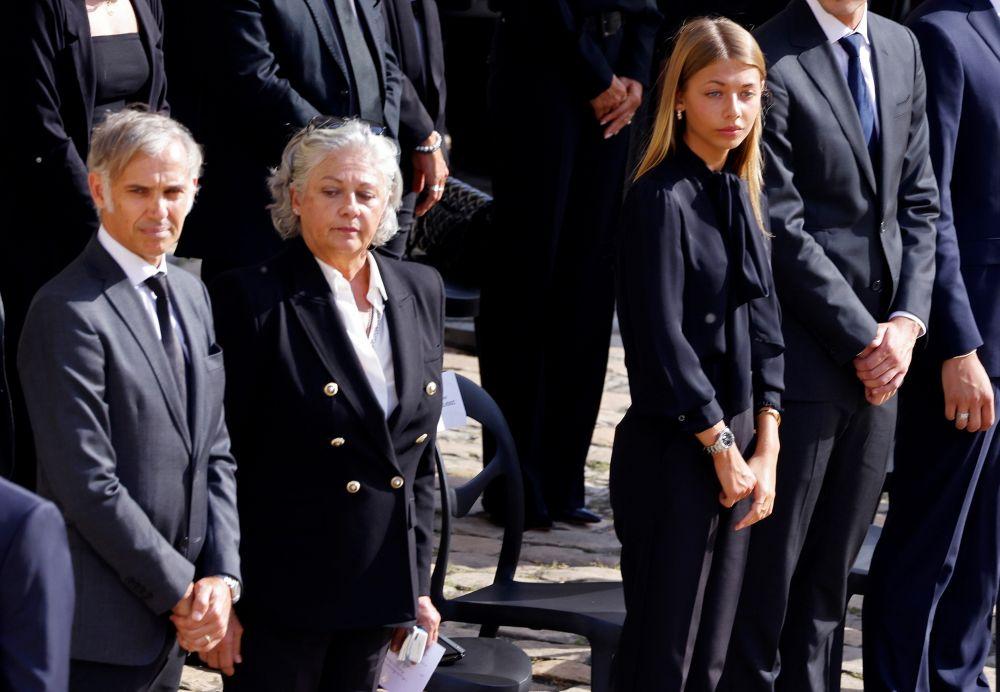 Дети Жан-Поля Бельмондо: Поль, Флоранс и Стелла (слева направо)