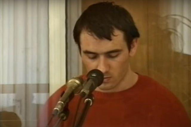 Нурпаши Кулаев на заседании суда в 2006 году.