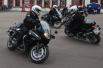 Показательные выступления мотоциклистов Почетного эскорта ФСО России на ВДНХ.