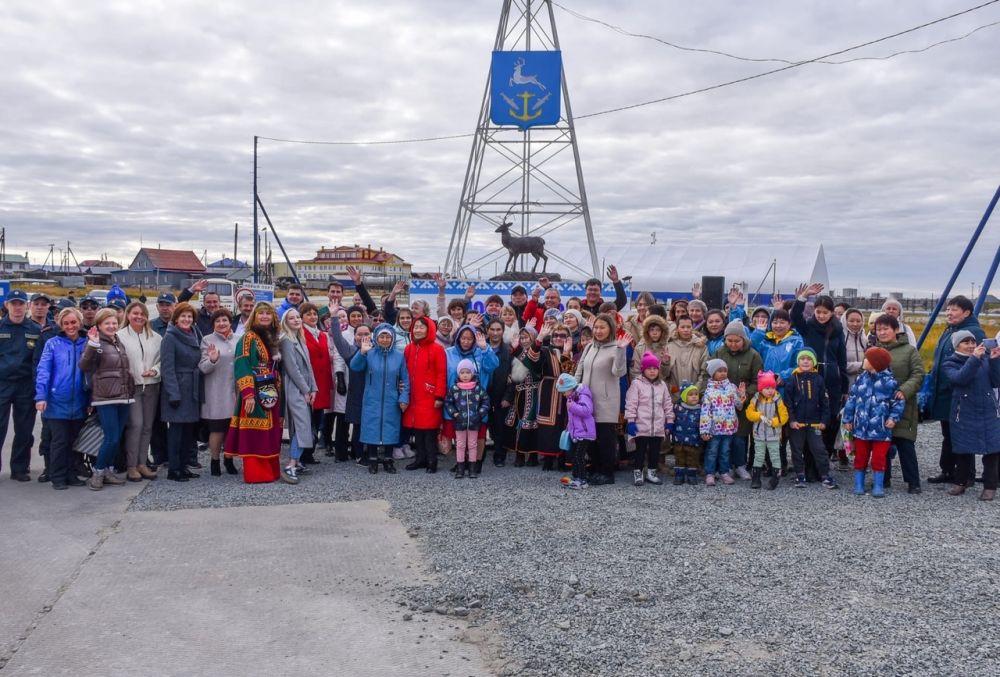 Новый Порт в ЯНАО - 100-летие, 2021.