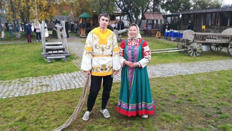 Салехард, День города – 2021. На территории Обдорского острога.