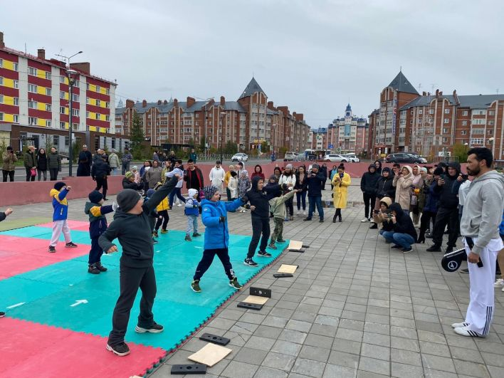 Салехард, День города – 2021. На площади арт-резиденции «Полярис».