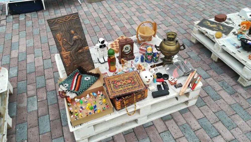 Салехард, День города – 2021. Блошиный рынок.