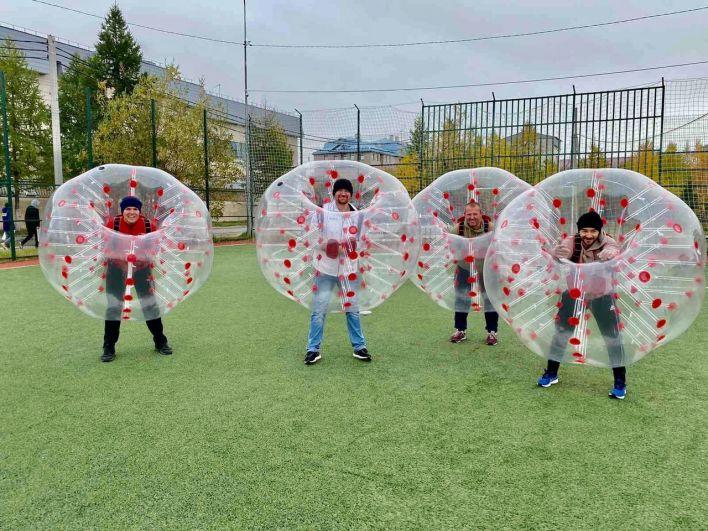 Салехард, День города – 2021. Соревнования по бамперболу.
