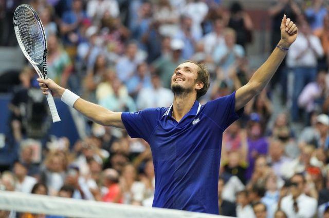 Россиянин Даниил Медведев стал победителем US Open