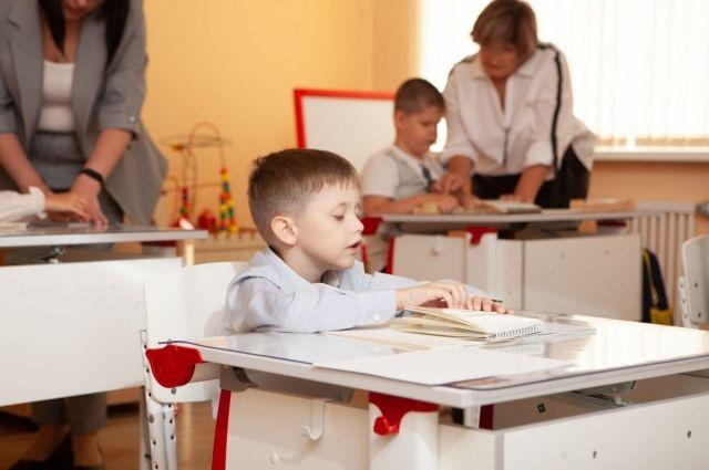 Учебный план у детишек из коррекционного класса не отличается от обычного.