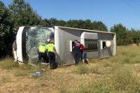 В Турции перевернулся автобус с украинцами: есть погибший.