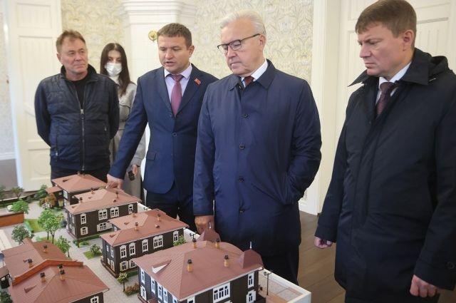 Губернатор высоко оценил итоги профинансированной РУСАЛом реставрации/