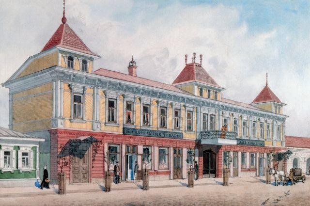 Дом купца П.В. Павлова на Исетской улице (сейчас ул. Карла Маркса) сохранился до сих пор.