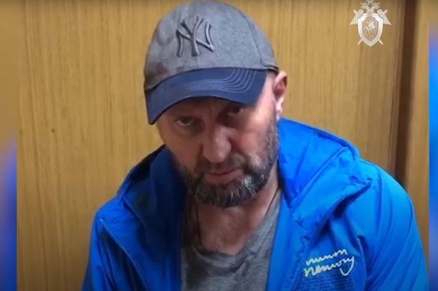 Задержаный Александр Мавриди, совершивший побег из следственного изолятора в Московской области.