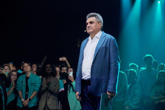 Лидер партии «Новые люди» Алексей Нечаев представил программу перемен