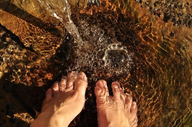 В Саракташе пропавшую женщину через сутки нашли стоящей в реке.
