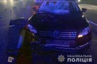 В Киеве водитель насмерть сбил женщину переходившую дорогу на красный свет.