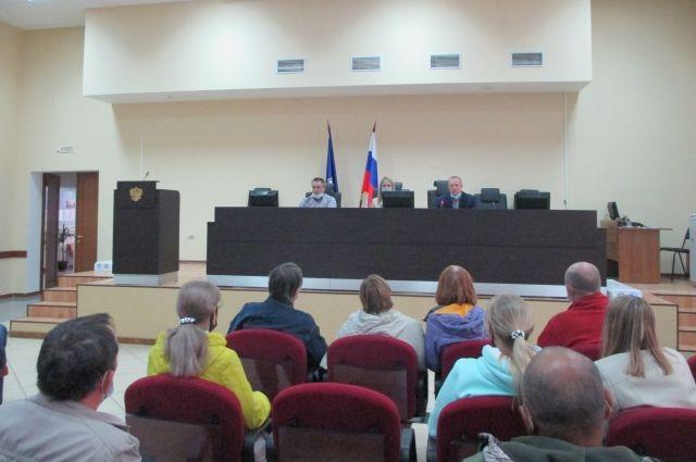Идет встреча с потенциальными участниками программы догазификации г.о. Новокуйбышевск.