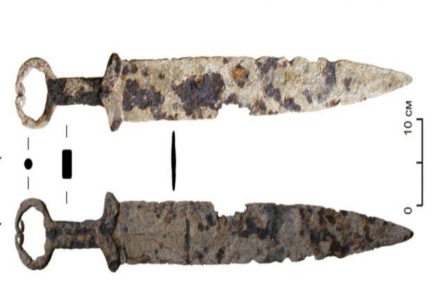 Находка оказалась ценным артефактом раннего железного века.