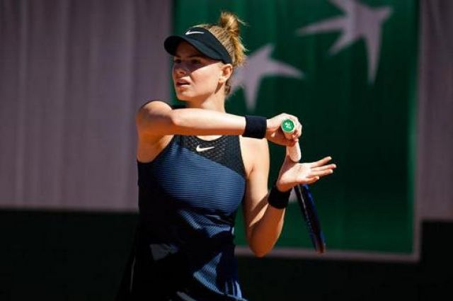 Катарина Завацкая проиграла на старте турнира в Словении.