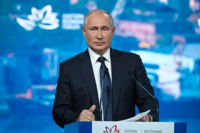 По инициативе партии. Владимир Путин отметил решения, предложенные ЕР