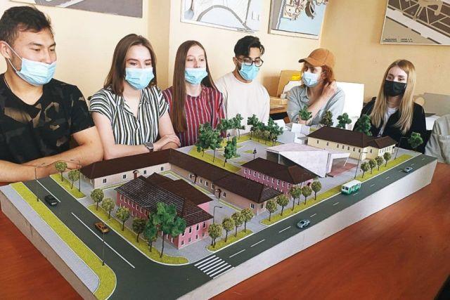 Идея квартала Малевича предполагает погружение в виртуальную реальность начала ХХ века.