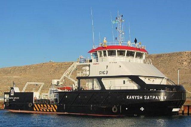 Научно-исследовательское судно «Каныш Сатпаев».