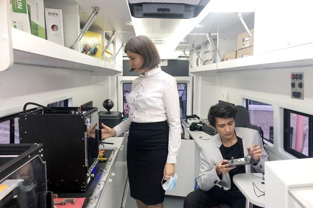 Мобильный технопарк начал работу в прошлом году с Клетского района Волгоградской области.