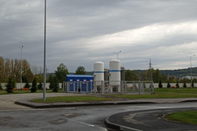 Подачу кислорода в палаты обеспечивает собственная кислородно-газификационная станция.