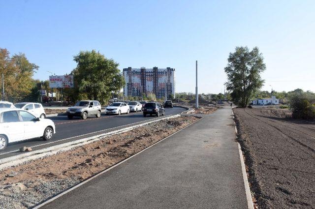В Оренбурге на кольце Рокоссовского и Победы откроют движение транспорта.