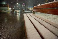 Перми в выходные ночами возможен снег.