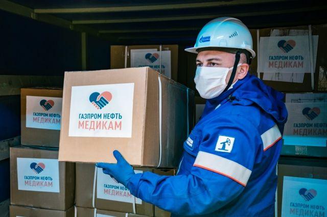 «Газпромнефть-Оренбург» поддерживает больницы и школы в борьбе с COVID-19