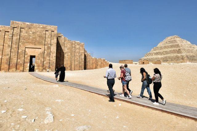Гробница фараона Древнего Египта Джосера после 15 лет реставрации