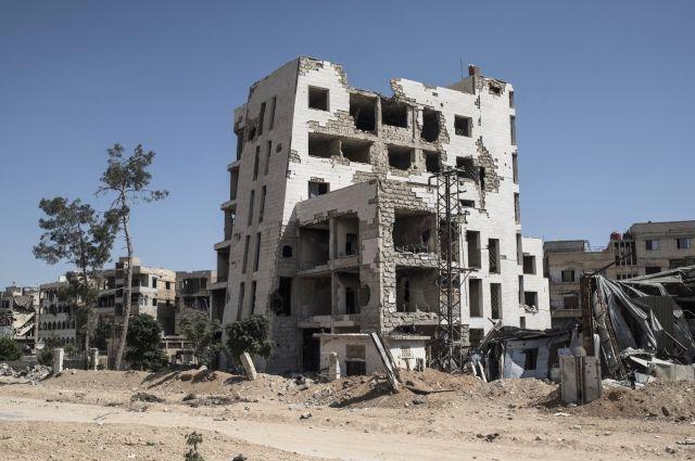 Сирийский военный погиб при обстреле со стороны террористов