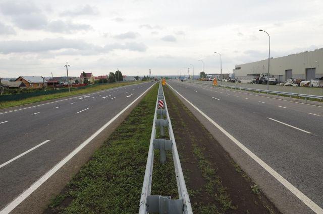 На участке трассы «Кемерово-Новокузнецк» временно ограничили движение