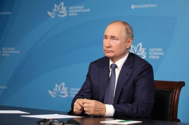 Путин назвал бегством вывод войск США из Афганистана