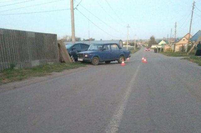 На Тамбовщине столкновении двух легковушек пострадали водители и ребенок