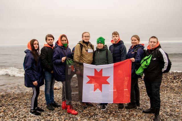 Ребята на протяжении недели занимались лабораторными работами в Иркутской области.