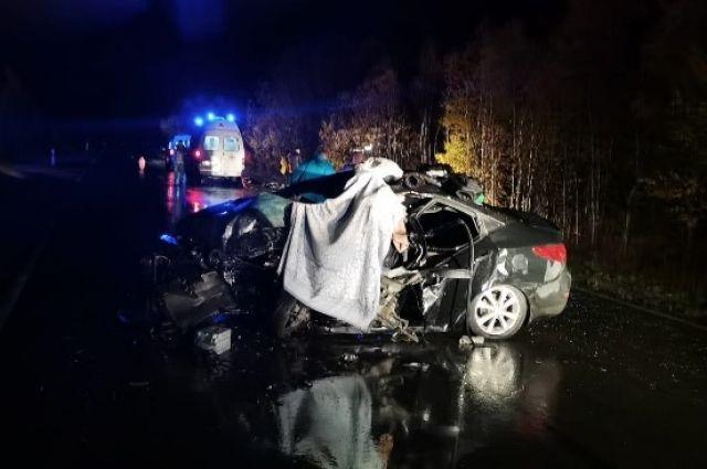 За сутки на дорогах ЯНАО погибло два человека