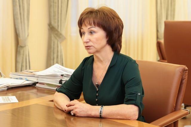 Она побывала на передвижном участке в поселке Шапша Ханты-Мансийского района