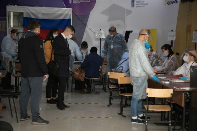 Выборы в Тюменской области подошли к концу