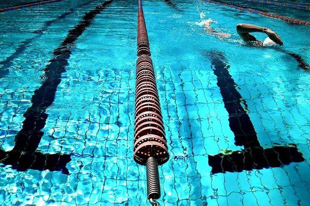 В Ижевске торжественно открыли 50-метровый бассейн
