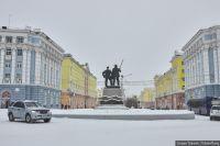 Для северной столицы снег в сентябре привычное явление.