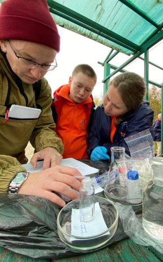 Экологическая экспедиция проходила с 9 по 17 сентября.