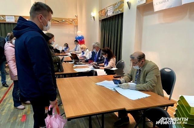 Избиратели отдали голоса за кандидатов в депутаты городской думы