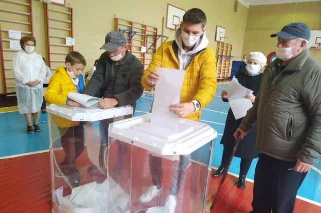 Чуть меньше половины жителей Рязанской области приняли участие в выборах.