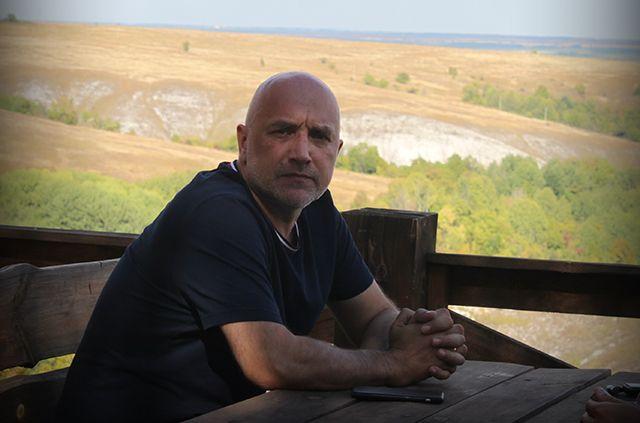 Писатель и политик Захар Прилепин