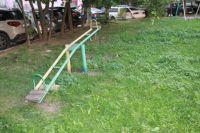 Опасную детскую площадку в Удмуртии показали на федеральном телеканале