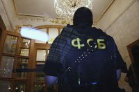 В Оренбурге очевидцы сняли визит сотрудников ФСБ в ГУДХОО.
