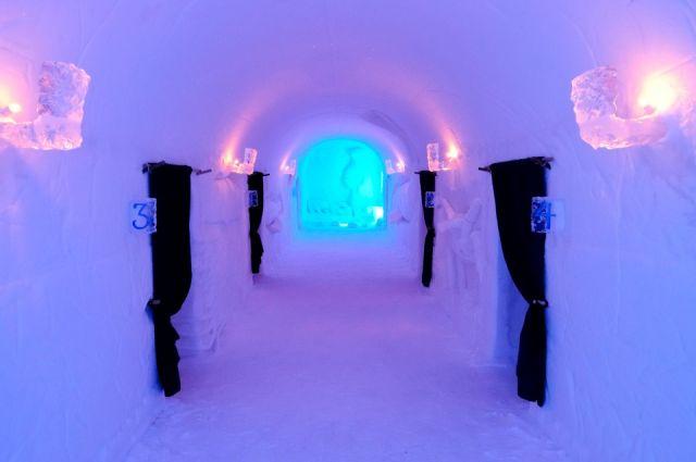 Отель Sorrisniva Igloo Hotel в Норвегии