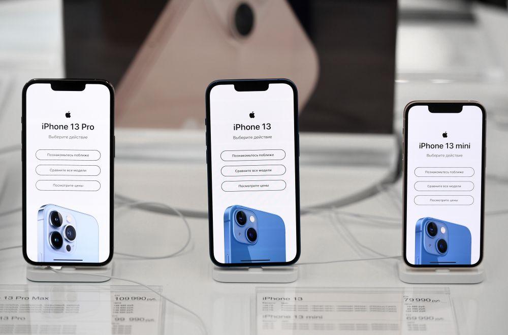 Телефоны компании Apple в магазине re:Store