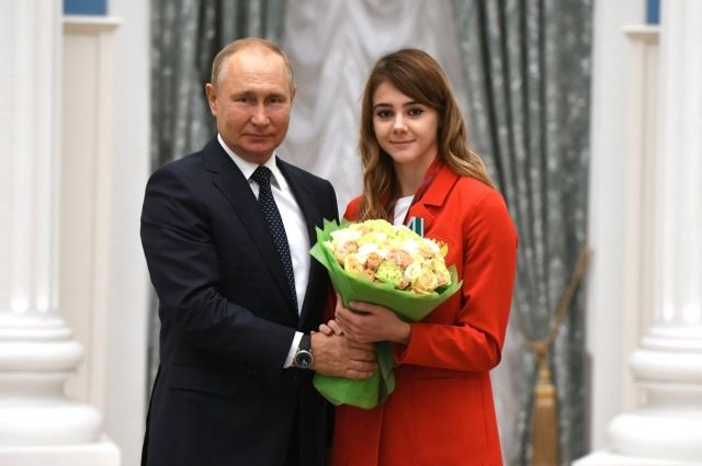 Президент сказал Насте, что рад ее видеть